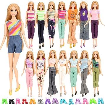 Amazon.es: Miunana 5X Ropas con Camiseta y Pantalones Hecha a Mano ...