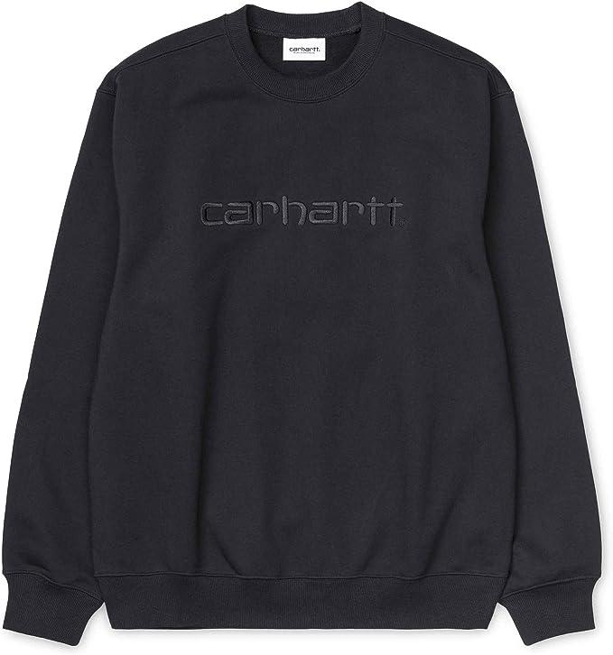 Carhartt Sweatshirt I027092 Cinnamon Felpa Uomo Girocollo