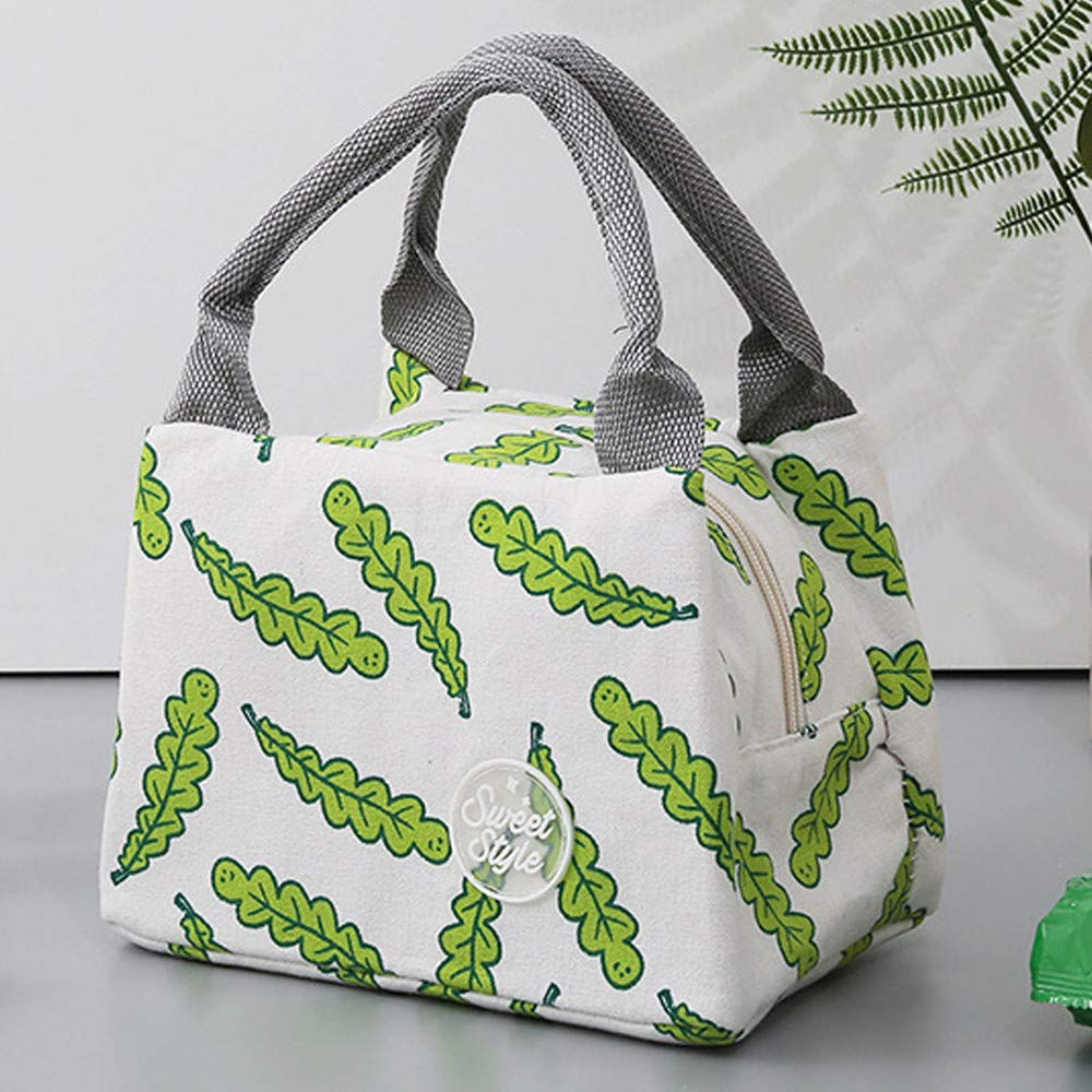 Sac-repas isotherme Nordic Style Women Lunch Tote Reusable Lunch sac à main nouveau sac