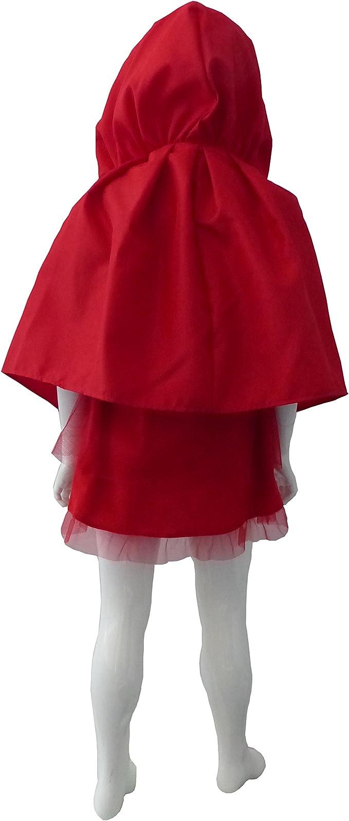César E863-001 - Disfraz infantil de Caperucita roja (5-7 años ...