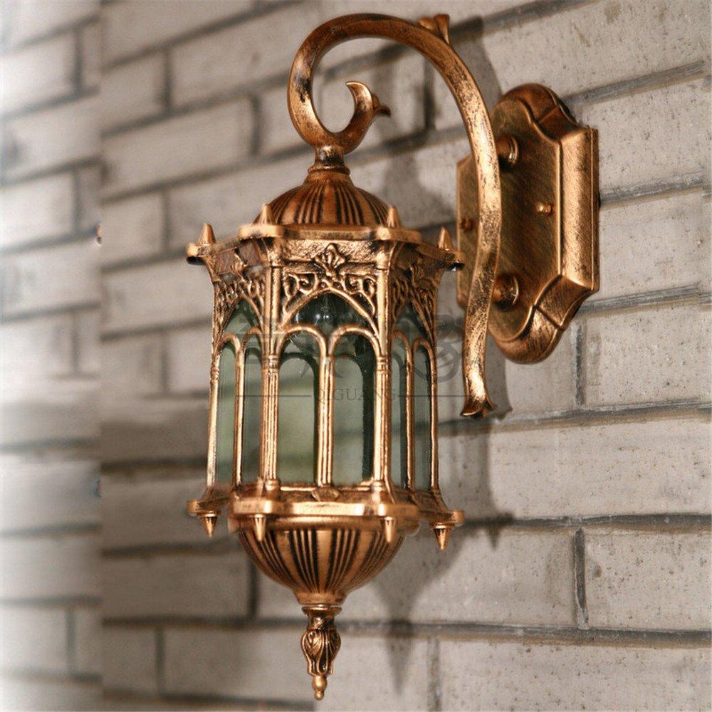 consegna lampo DengWu lampada da parete American luci da parete esterno impermeabile impermeabile impermeabile Villa Giardino patio esterno lampada corridoio di illuminazione luci della porta Soggiorno  marchio in liquidazione