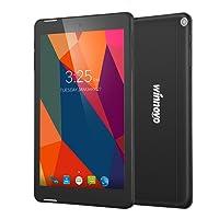 Winnovo M866 Wifi Tablet Android 6.0 con 8 pulgadas 1024x800 pantalla táctil bIPS 16GB ROM Doble Altavoz y bateria de 3500 mAh (Negro)