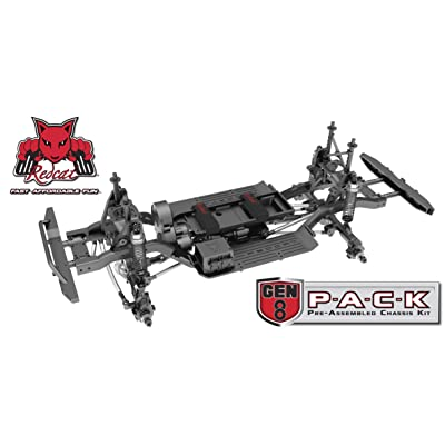 Redcat Racing Gen8 PACK - 4WD Scale Rock Crawler Chassis Kit with Portal Axles, 1/10 scale - Pre-Assembled Slider Kit: Toys & Games