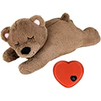 Allnice Puppy Toy with Heartbeat Puppies Separation Anxiety Dog Toy Soft Plush Sleeping Buddy Pet Behavioral Aid Toy…