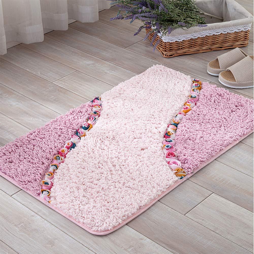 PinkA 80x120cm(31x47inch) Door mat,Non Slip Door mat Indoor Doormat Entrance Rug Rug Floor mat Shaggy Area Rug-pinkA 80x120cm(31x47inch)