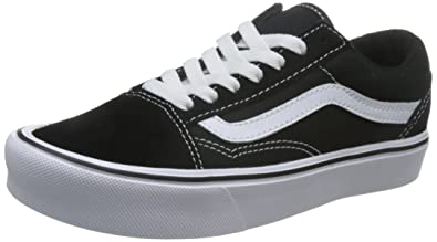 7853dbde30dee3 Vans Unisex Adults  Old Skool Lite Trainers  Amazon.co.uk  Shoes   Bags