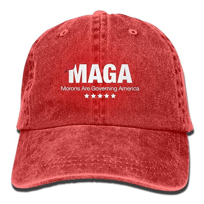 MAGA Morons are Governing America Unisex Baseball Cap Cowboy Hat Dad ... 40fd3f8565d