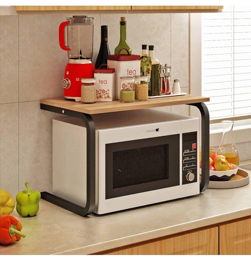 CFZWJ Étagère de cuisine Étagère à riz multifonction Étagère 2 couches Étagère meublée (41 * 60 * 37 -5 Cm) Rayonnage