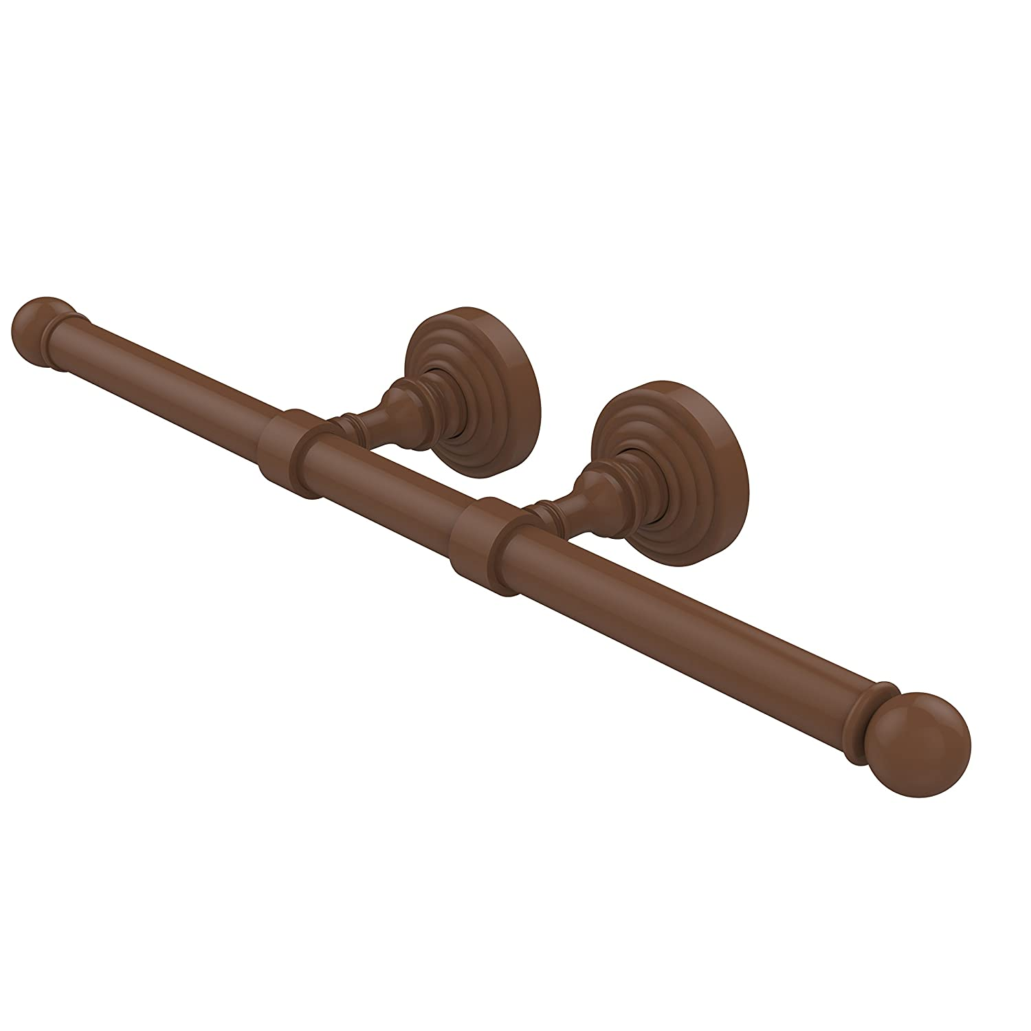Allied Brass WP-24-2-ORB Waverly Place Collection Double Roll Toilet Tissue Holder Oil Rubbed Bronze