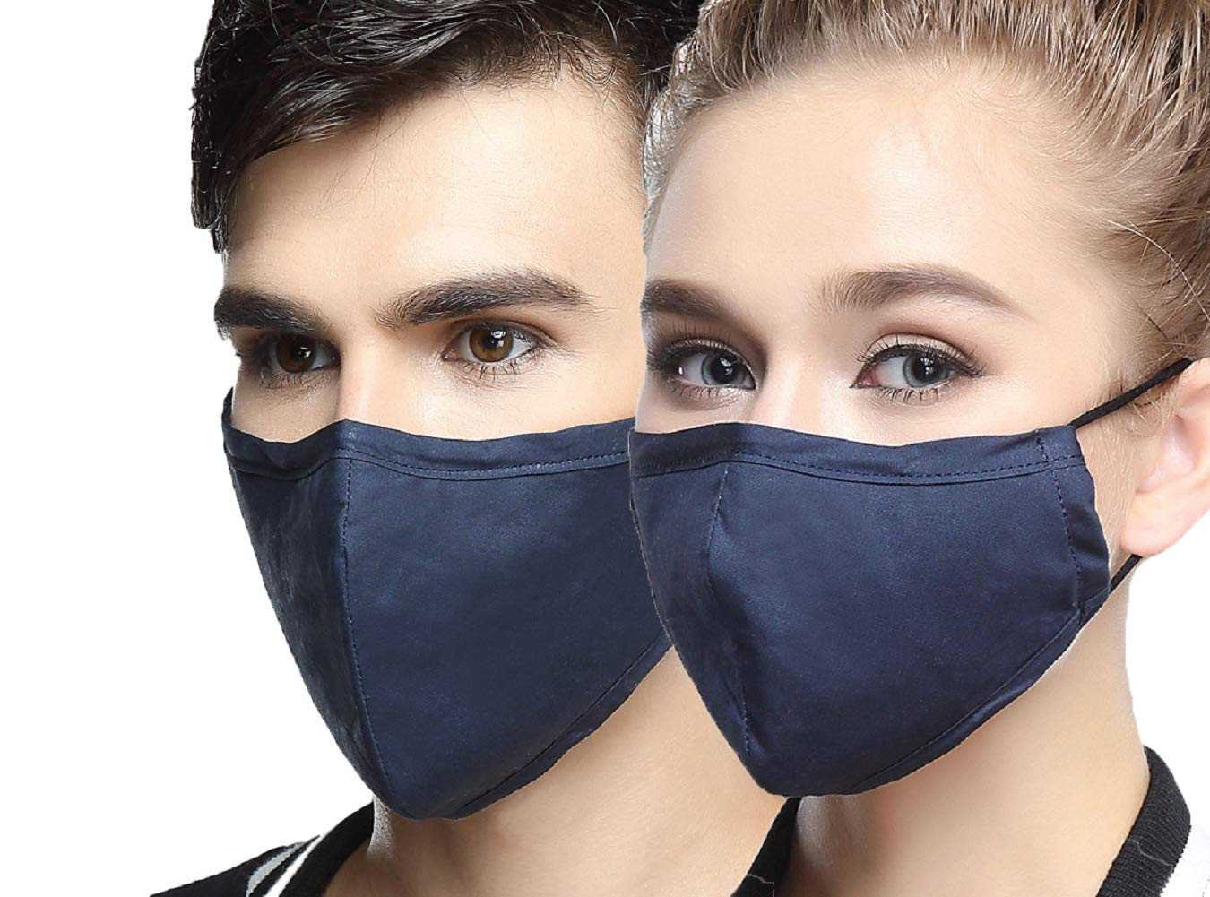 AVIGOR N95 Dust Mask Anti Pollution Face Mask Washable Antibacterial Cotton Mouth Mask (Blue)