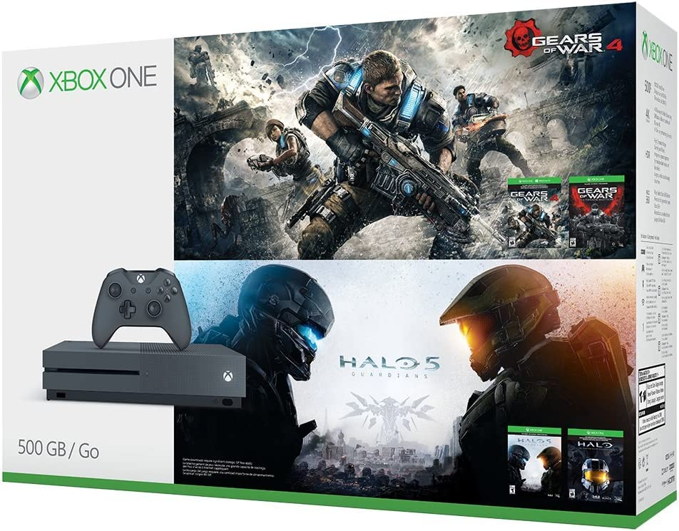 Amazon microsoft xbox one s 500gb console gears of war amazon microsoft xbox one s 500gb console gears of war halo special edition bundlediscontinued video games sciox Choice Image