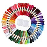 Premium Rainbow Color Embroidery Floss,50 Skeins
