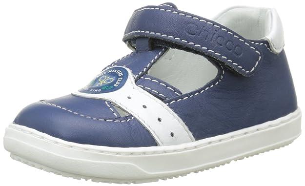 ChiccoSandale Gonk - Patucos Cortos Bebé-Niñas, Azul (Bleu (800)), 20