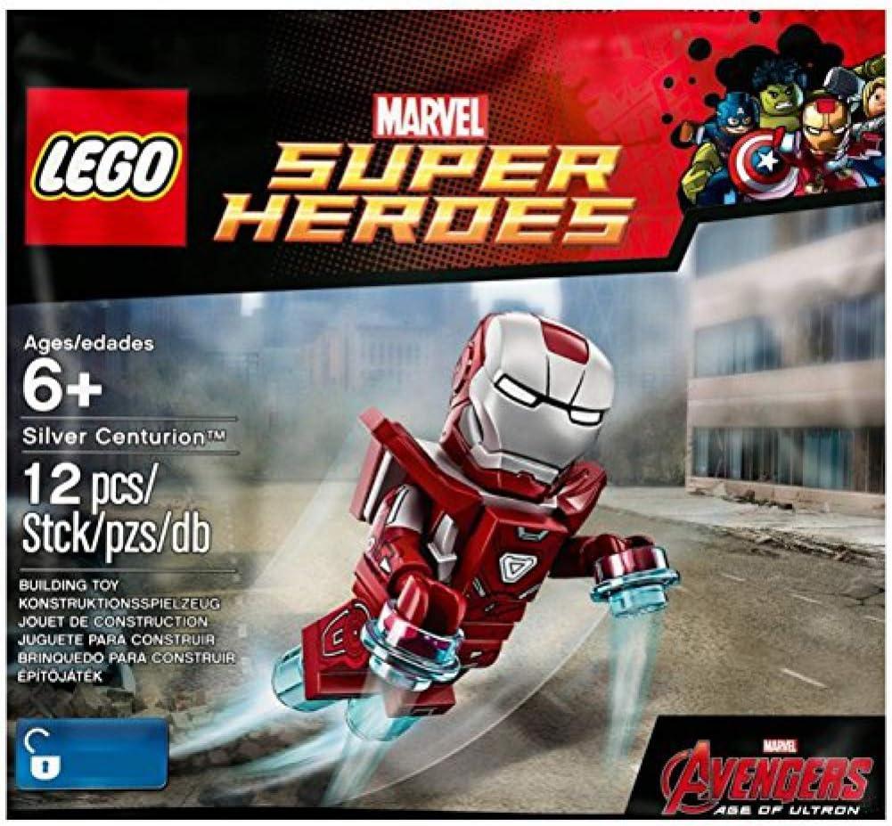 LEGO Super Heroes: Silver Centurion Exclusive Minifigure - Iron Man Mark 33 Armor