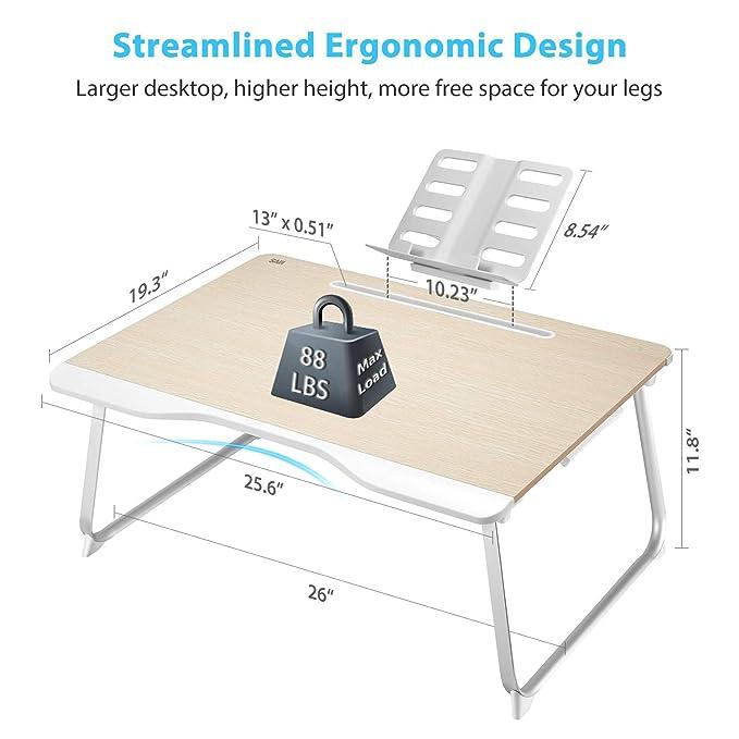 Amazon.com: Saiji Mesa de escritorio multifunción para ...