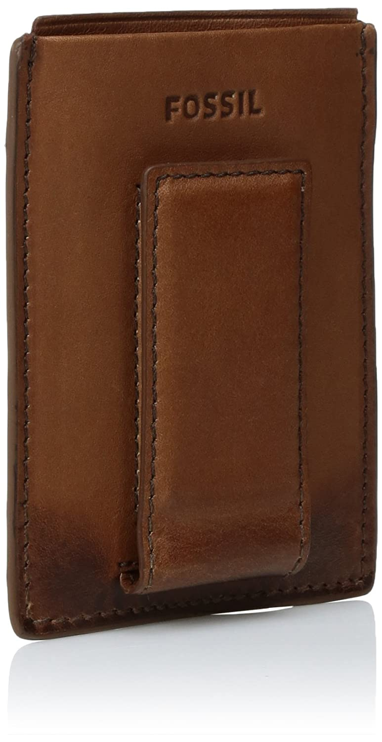 Amazon.com: Fossil Men s RFID Blocking Derrick magnético ...