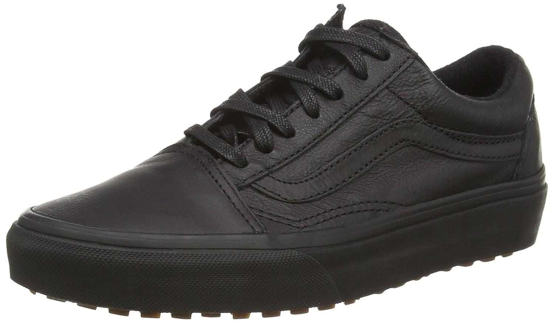 Vans U Old SKOOL MTE - Zapatillas Unisex 45 EU Negro ((Mte) Negro/Leather)