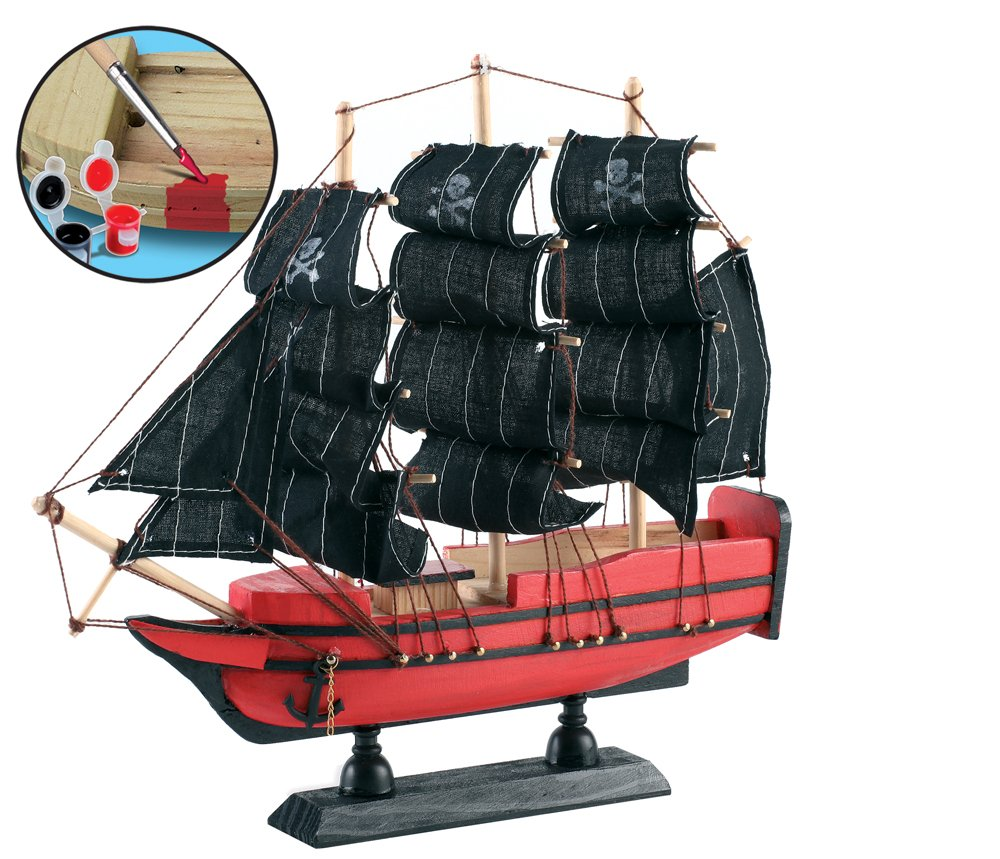 small world toys creative build a pirate ship amazon co uk