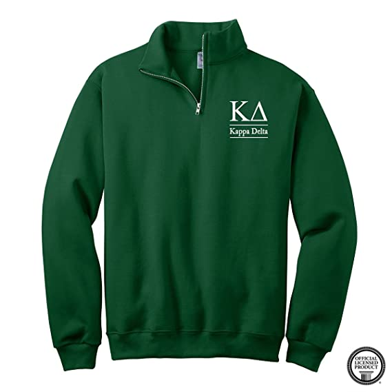 2e56ed42bedd1 Kappa Delta Quarter Zip Pullover Sweatshirt at Amazon Men s Clothing store