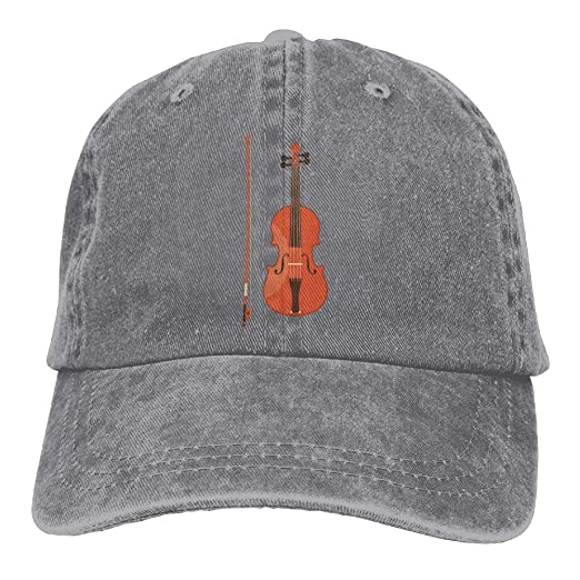 5fd7c5e288f7 Arsmt Violin Music Red Denim Hat Adjustable Male Plain Baseball Cap at Amazon  Men s Clothing store