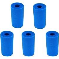 Huante 5 Stks Foam Filter Sponge voor Type een Herbruikbare Wasbare Zwembad Aquarium Filter Accessoires