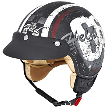 Held Classic-66 - Casco matt-schwarz Talla:XL (61/62