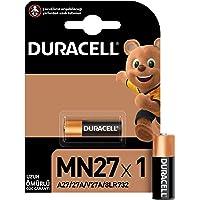 Duracell Özel Alkalin MN27 Pil 12V, 1'li paket (A27 / 27A / V27A / 8LR732) uzaktan kumandalar, kablosuz kapı zilleri ve…