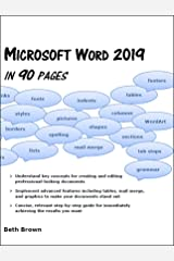 Microsoft Word 2019 In 90  Pages Kindle Edition
