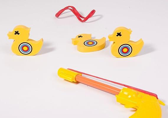 Boxed Stocking Filler Executive Toys Novelty Desktop Duck Shoot Game