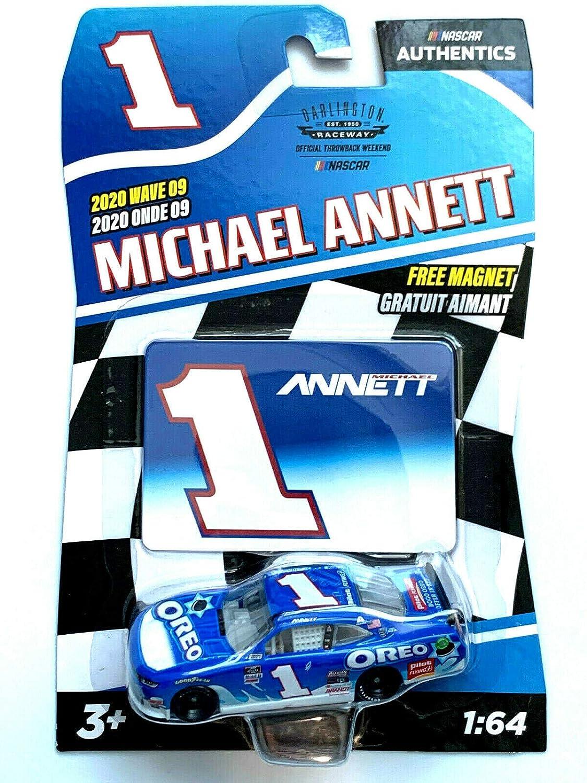 Nascar Authentics Michael Annett #1-2020 Wave 09
