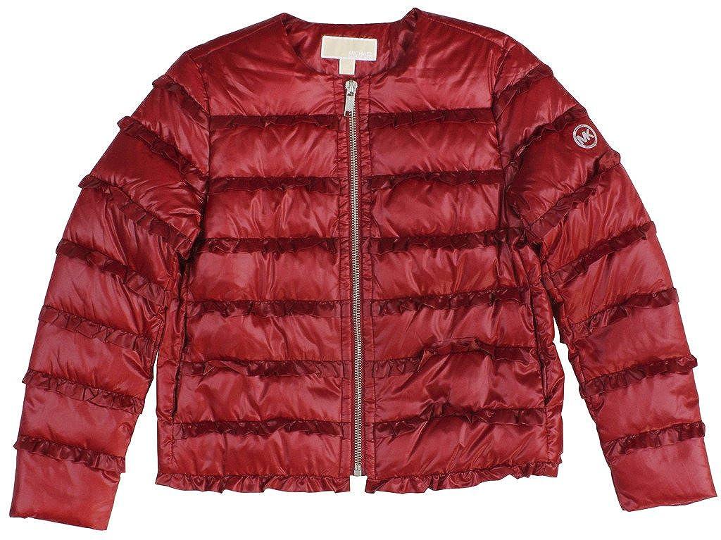 ab7cd25c0 MICHAEL Michael Kors Women's Ruffled Puffer Jacket at Amazon Women's ...