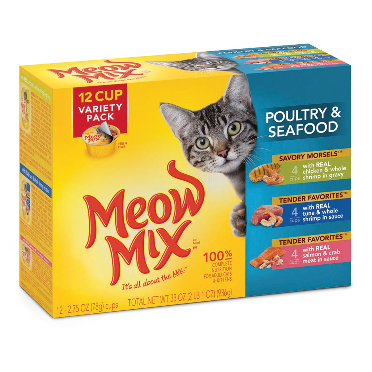 Meow Mix Tender Favorites Wet.