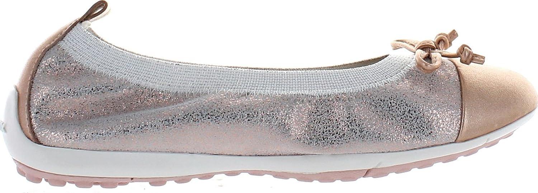 Geox Girls Jr Piuma Ballerina Flats Shoes