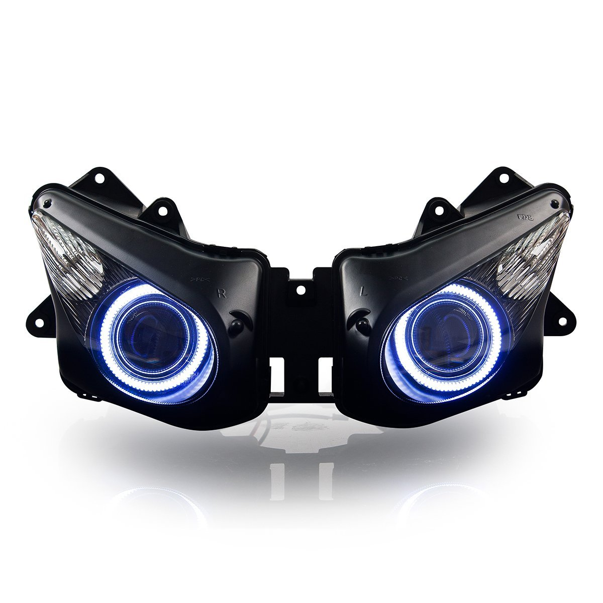 Amazon.com: KT Headlight Assembly for Kawasaki Ninja ZX-10R ...