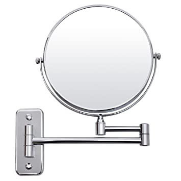 songmics espejo tocador de pared x ampliacin afeitar espejos para bao bbm