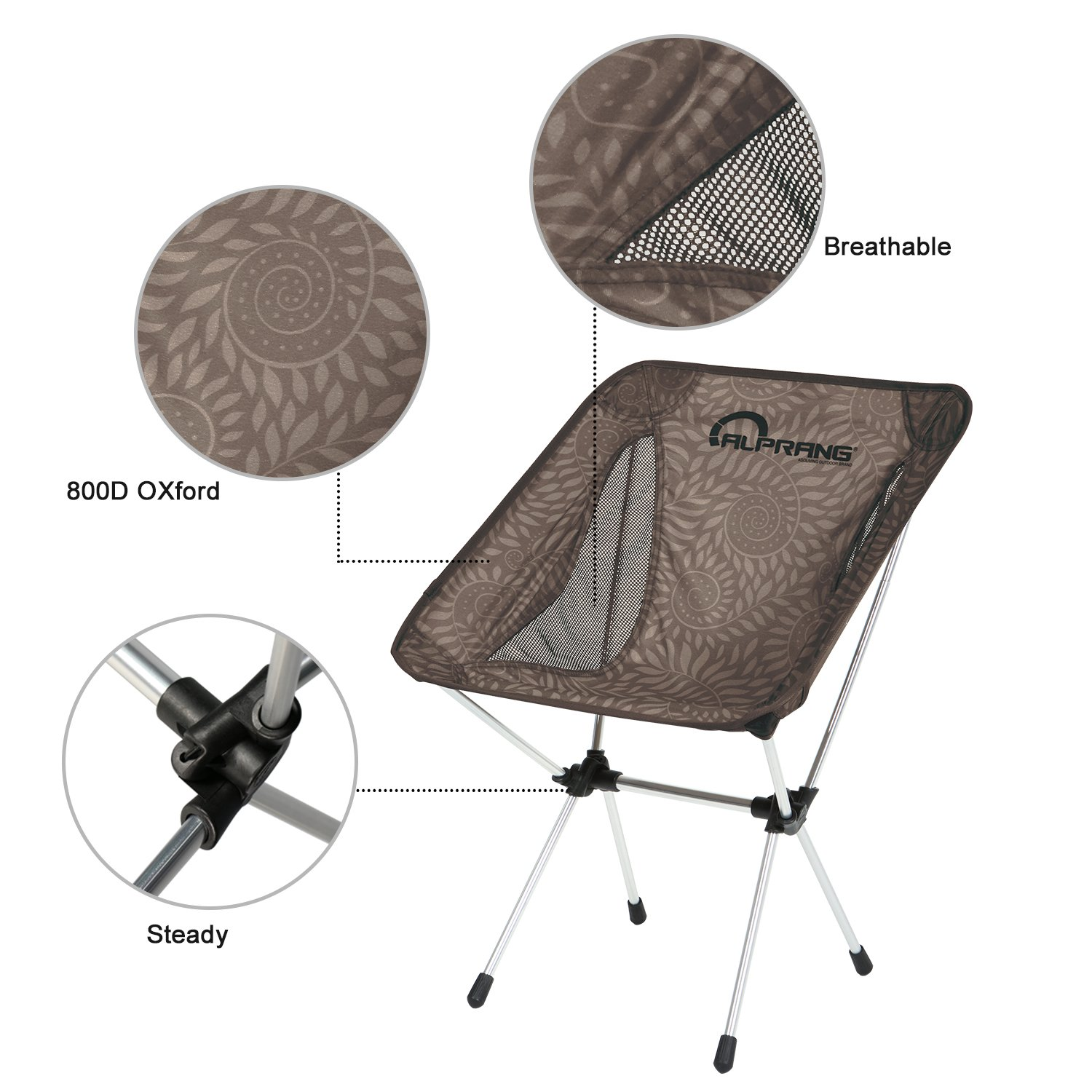 Amazon Folding Camping Chairs with Carrying Bag pact