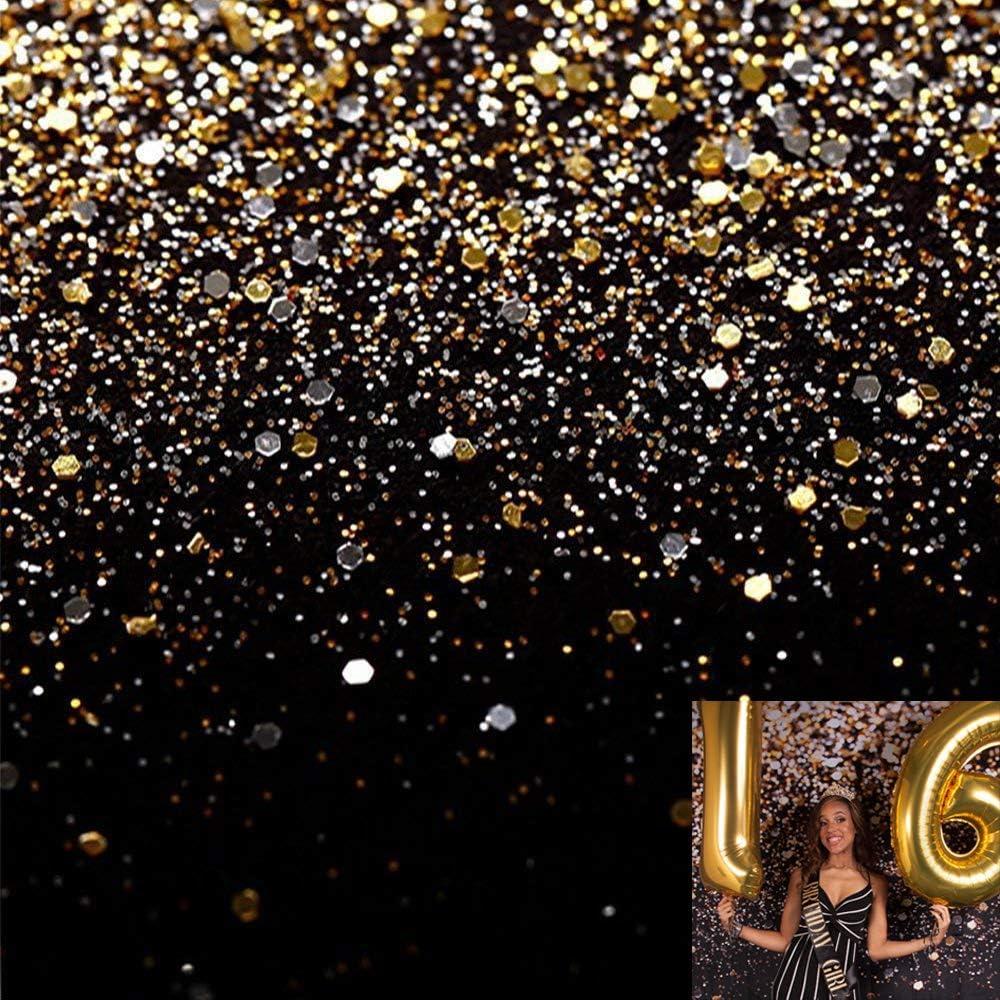Kate 8x8ft Bokeh Backdrop for Photography Dark Glitter Portrait Bokeh Photo Backdrops Photo Studio Props