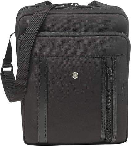 Black Victorinox Werks Professional 2.0 Crossbody Laptop Bag 12.6-inch