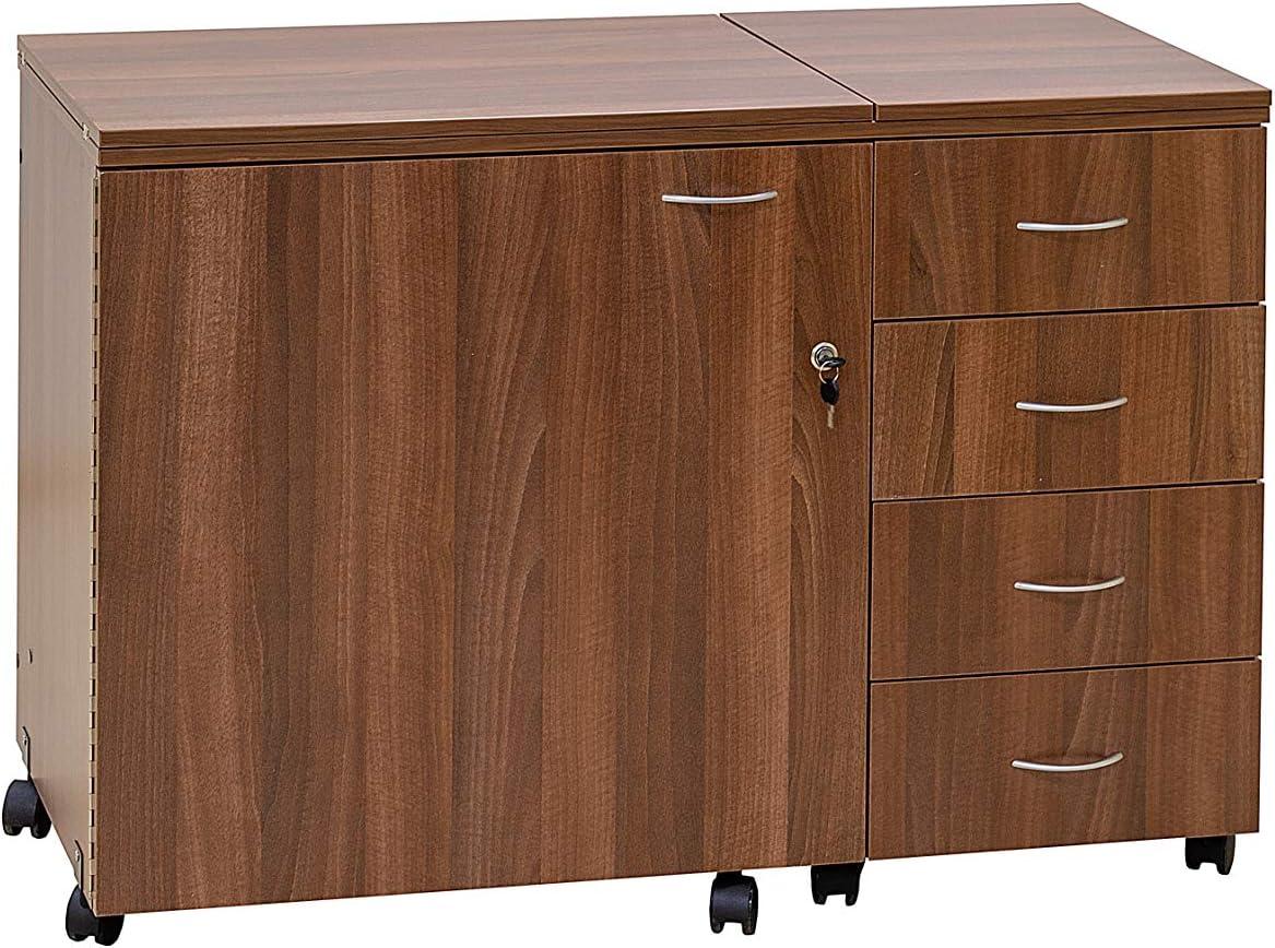 Comfort 2 | Mueble para máquina de coser | (Lakeland Acacia Light ...