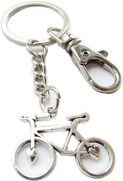 Llavero, diseño de bicicleta, bicicleta llavero, personalizado ...