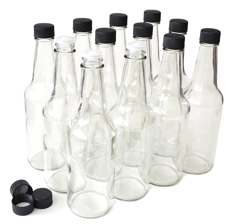 NiceBottles - Hot Sauce Bottles, 10 Oz - 12 Pack