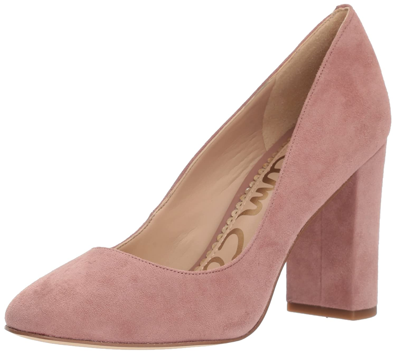Dusty pink Suede Sam Edelman Women's Stillson Pumps