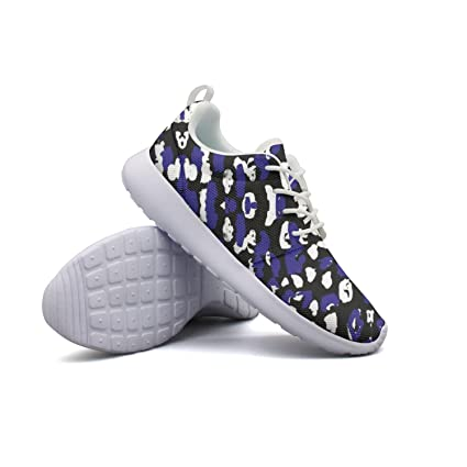 4a83fe10bae1 Image Unavailable. Image not available for. Color: Armsttm Mens Lightweight Fashion  Sneakers Abstract Leopard Print Art Running Shoe Casual Athletic ...