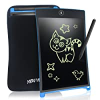 8.5 Inch LCD Ewriting Tablet Digital Portable NEWYES touch Pad Rugged drawing Tablet Magnetic Fridge Planner Office Memo Boards with Sleeve case (blue)