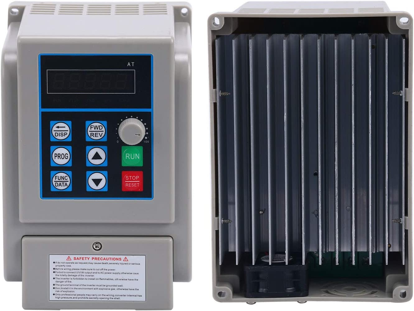 AC220V 8A 1.5KW Variable Frequency Drive Converter Speed Controller Converter