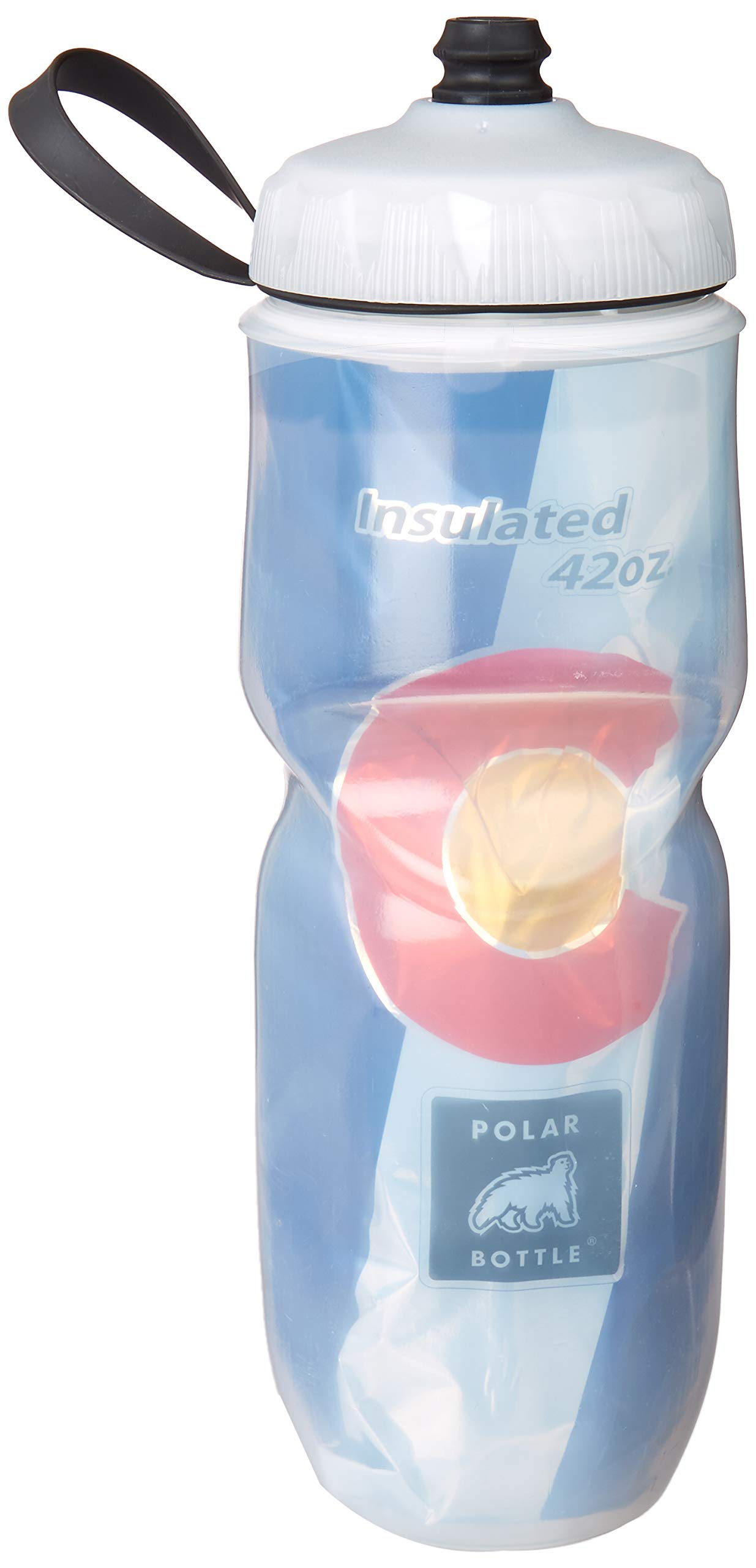 POLAR BOTTLE INSULATED 20oz USA STAR SPANGLED WATER BOTTLE