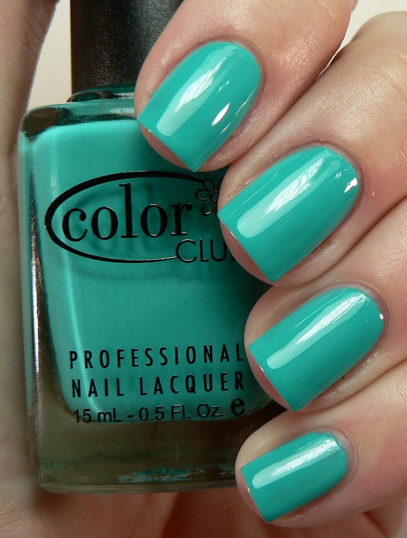 Amazon.com : Color Club Nail Polish Age of Aquarius (Creme) N04 : Beauty