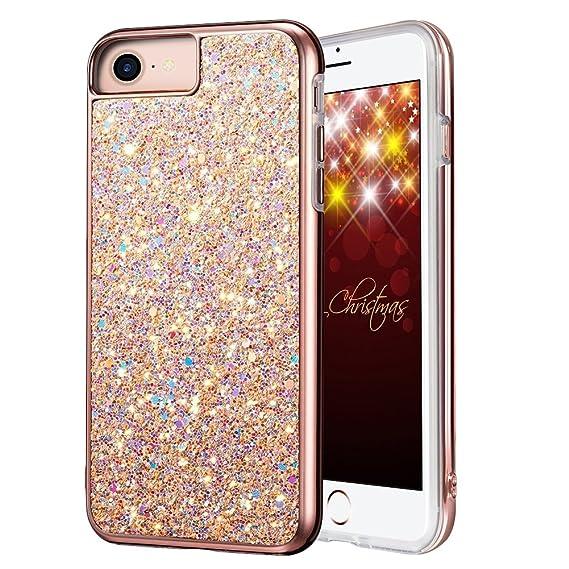 glittery iphone 8 case