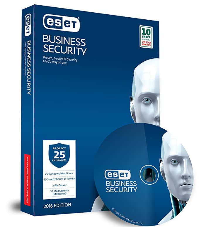 ESET Business Security Pack   25 Users, 1 Year  DVD  Security Suites