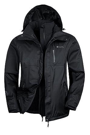 Mountain Warehouse Bracken Mens 3 in 1 Waterproof Jacket at Amazon ...
